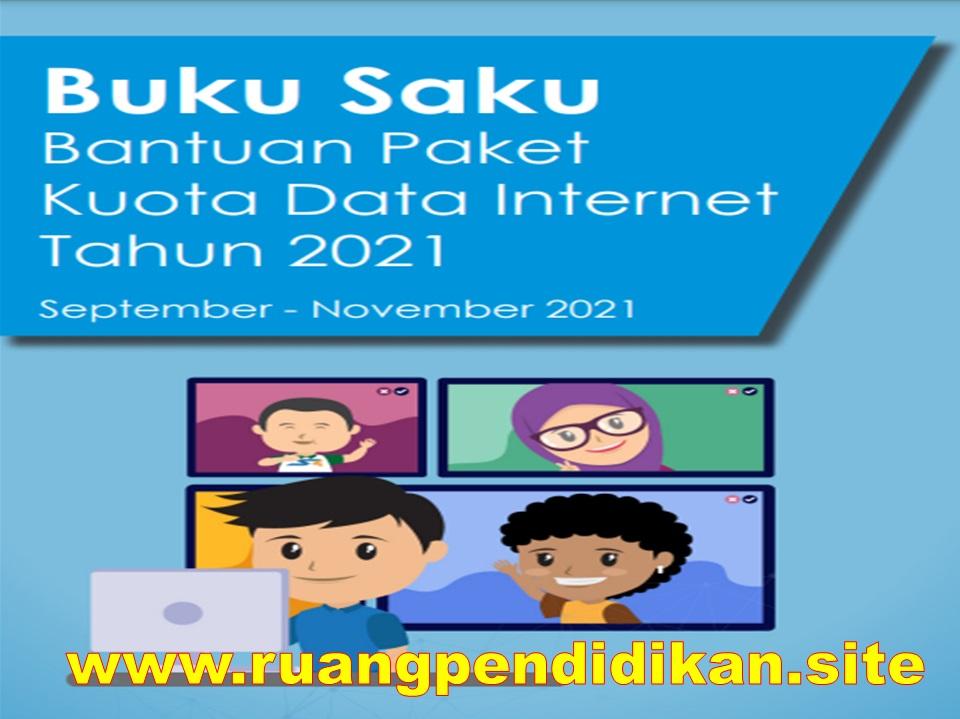 Buku Saku Bantuan Kuota Internet