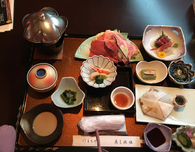 藤三旅館の夕食