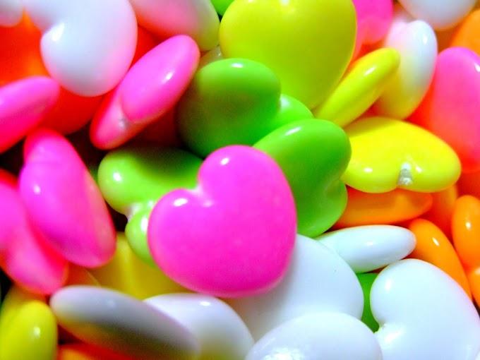 059 #かわいい #お菓子 #ラムネ菓子 #ハート