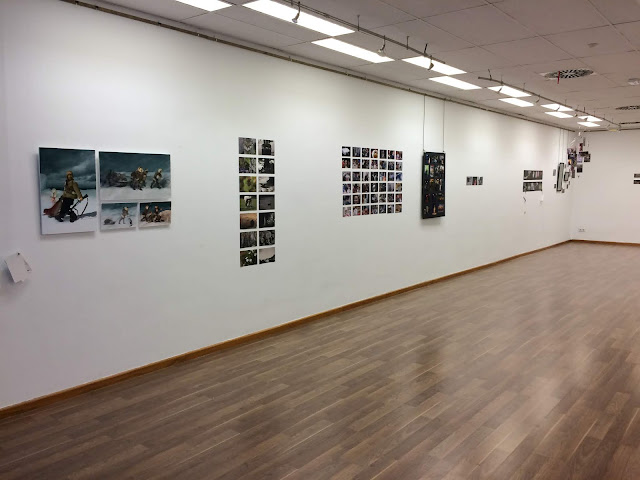 El Bosque Abierto - sala de exposiciones centro cultural arganzuela