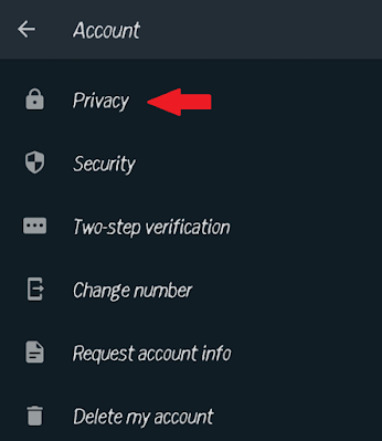how to lock whatsapp in hindi - privacy option