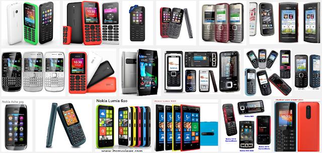 नोकिया मोबाइल मॉडल