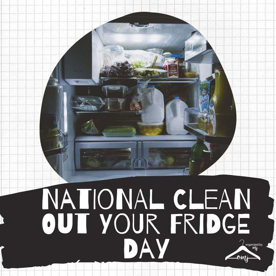 National Clean Out Your Fridge Day Wishes