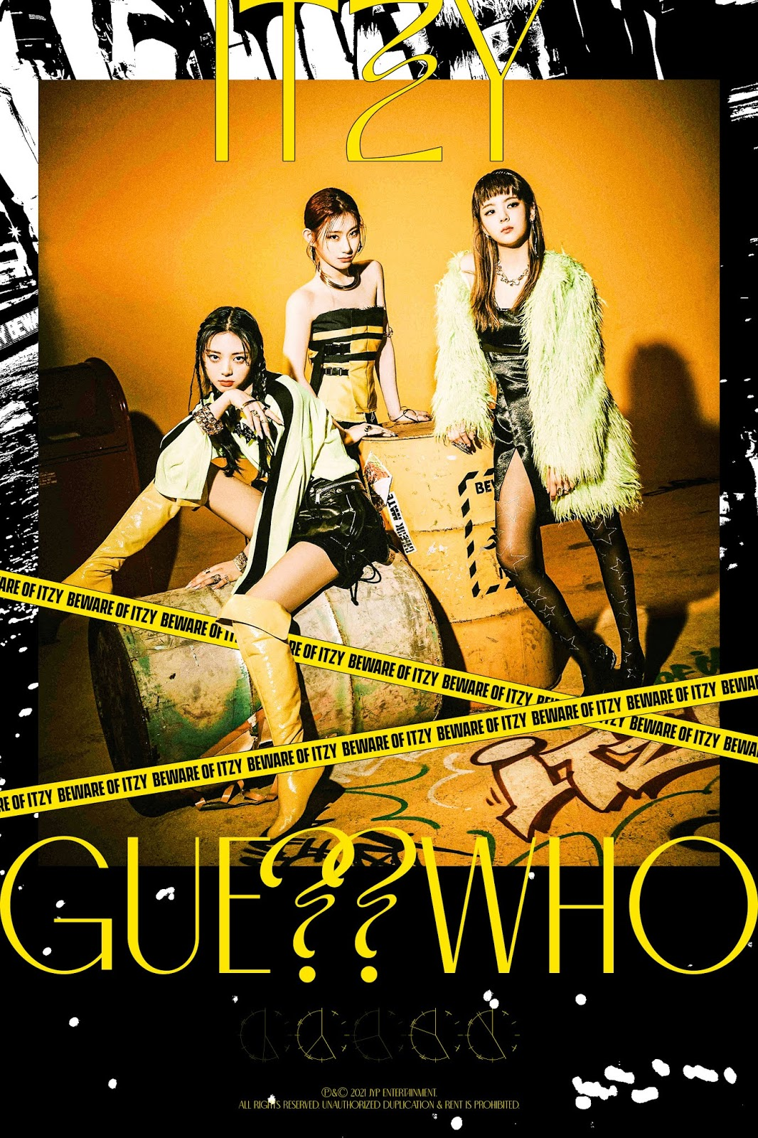 itzy guess who teaser trio