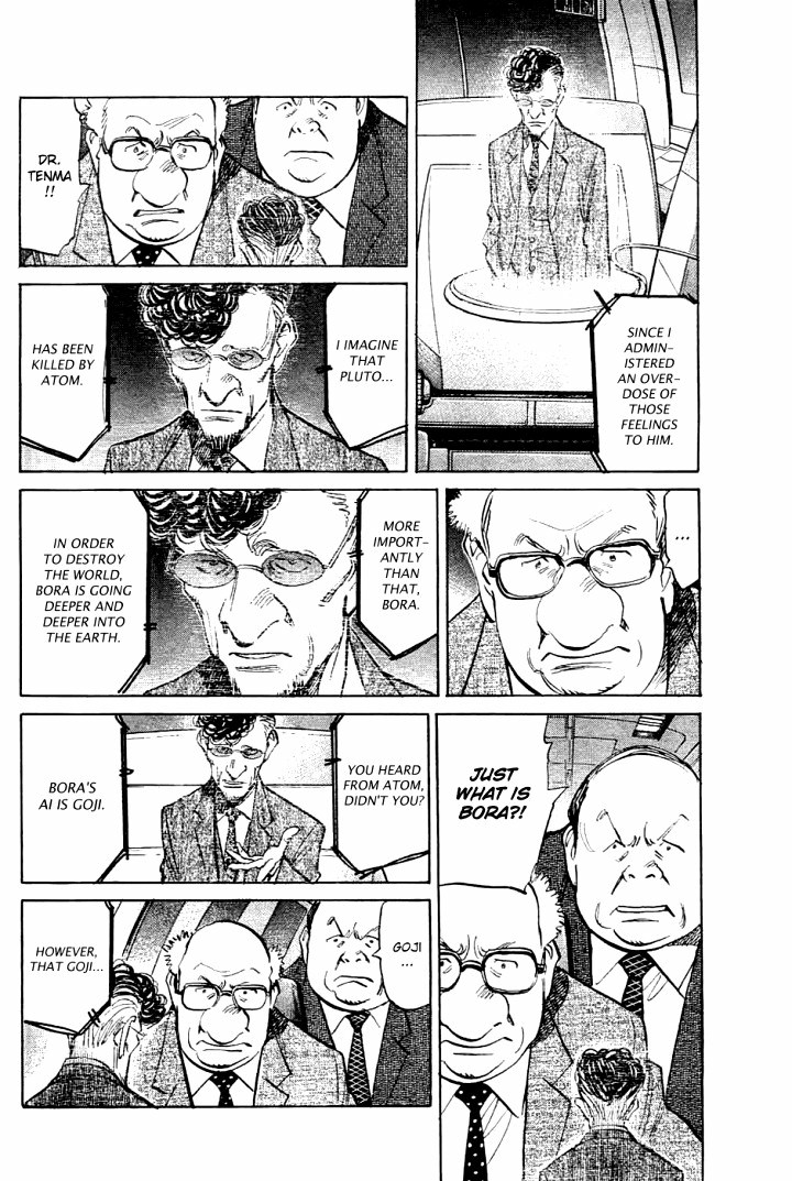 Page 6, Act 64: Sound of the End from Naoki Urasawa's Pluto Volume 8