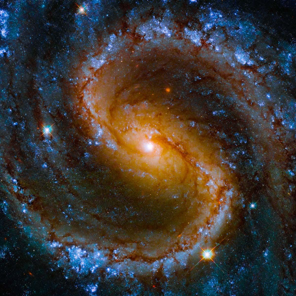 Cores da 'Galáxia Perdida'