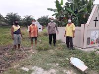 Warga Makmur Tak Setuju Penguburan Jenazah Covid-19, Polsek Teluk Mengkudu Turun ke Lokasi