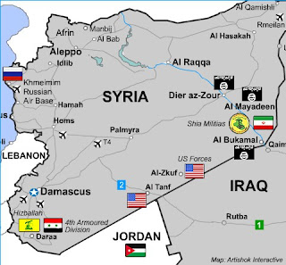 All illegal foreign forces in Syria will be treated as aggression