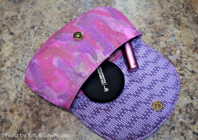 pattern for makeup bag