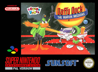 Daffy Duck: The Marvin Missions (Br) [ SNES ]
