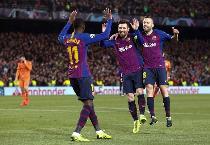 ديمبلي يقود التشكيلة المتوقعة لبرشلونة أمام هويسكا