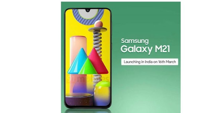 Samsung Galaxy M21 Leaked, Set To Come With Infinity-U Notch Display