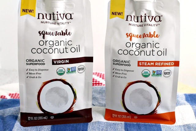Looking for an alternative to those usual vegetable oils and butter in your holiday dinner cooking and baking? Then give Nutiva Squeezable Organic Virgin Coconut Oil & Steam Refined Coconut Oil a go instead this holiday season!