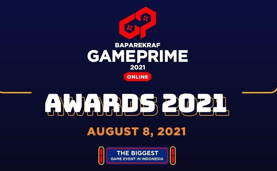 baparekraf game prime awards 2021 2022