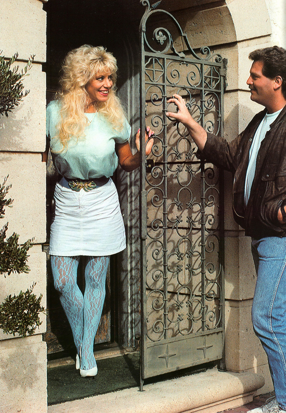 vintage images from adult magazines show the tasteless clothes that these people wore in the
