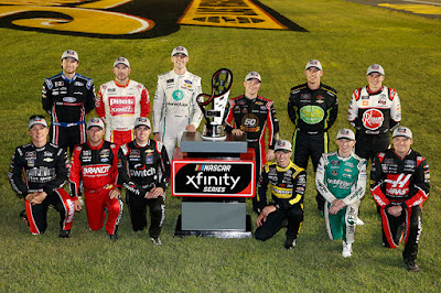 These #NASCAR Xfinity drivers will compete for the 2019 NASCAR Xfinity Championship
