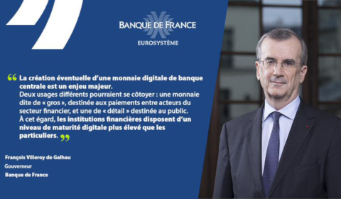 Intervention du gouverneur de la Banque de France