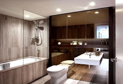 Make Your Bathroom Look New And Modal Again