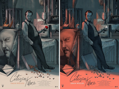 Citizen Kane Movie Poster Screen Print by Jonathan Burton x Mad Duck Posters