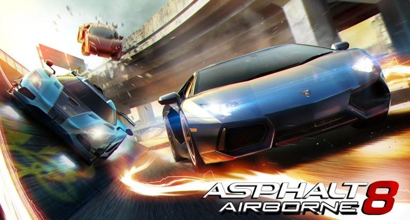 Asphalt 8 Airborne Mod APK [Mega Mod]-Free Download
