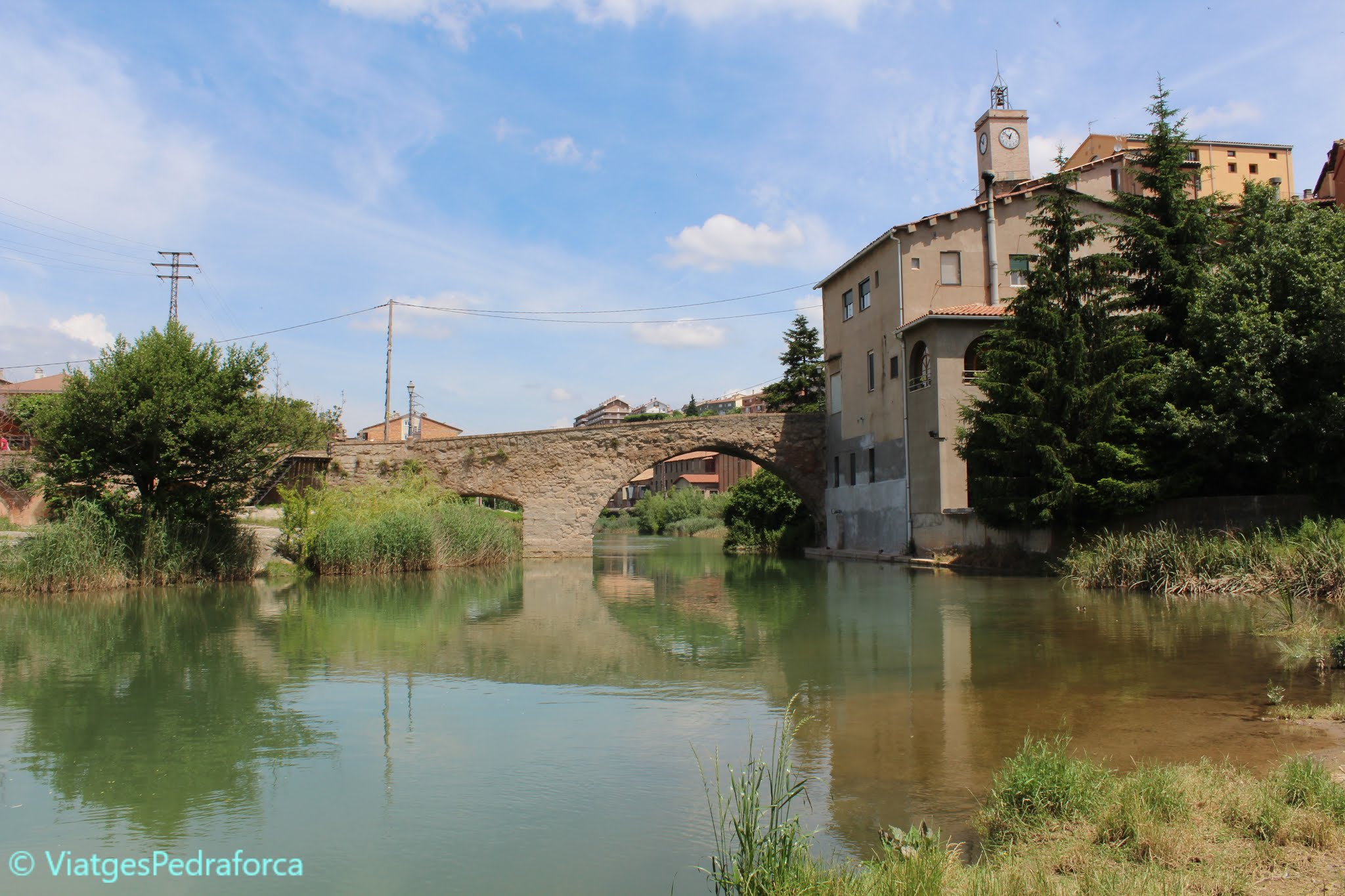 Catalunya, patrimoni cultural, ruta de les colònies tèxtils del Llobregat