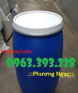Thùng phuy nhựa nắp mở, thùng phuy nhựa đựng thực phẩm 7b513544946871362879