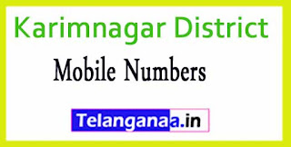 Boinpalle Mandal Sarpanch Upa-Sarpanch Mobile Numbers List Karimnagar District in Telangana State