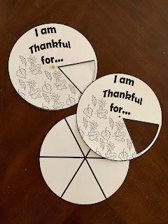 Gratitude Wheel (free PDF)