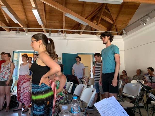 Πρέβεζα:Ξεκίνησε Το 3ο Σεμινάριο Για Διευθυντές Χορωδιών
