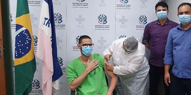 mais de 3000 pessoas já foram vacinadas