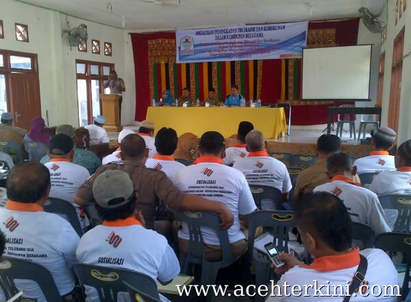 Kesbangpol Aceh Singkil Sosialisasikan Toleransi Kehidupan Beragama