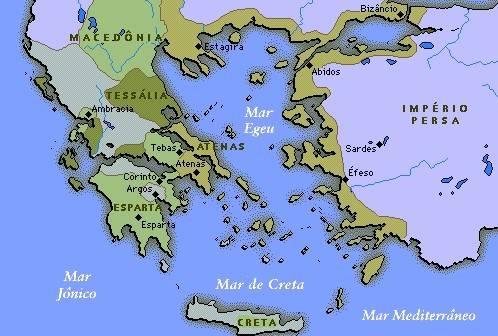 mapa grecia antiga Blog do Maffei: ALGUNS MAPAS DA GRÉCIA ANTIGA mapa grecia antiga