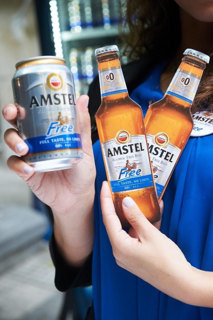 Η Amstel Free στην Παγκόσμια Ημέρα Διατροφής...και η απόλαυση, μένει πάντα ίδια.