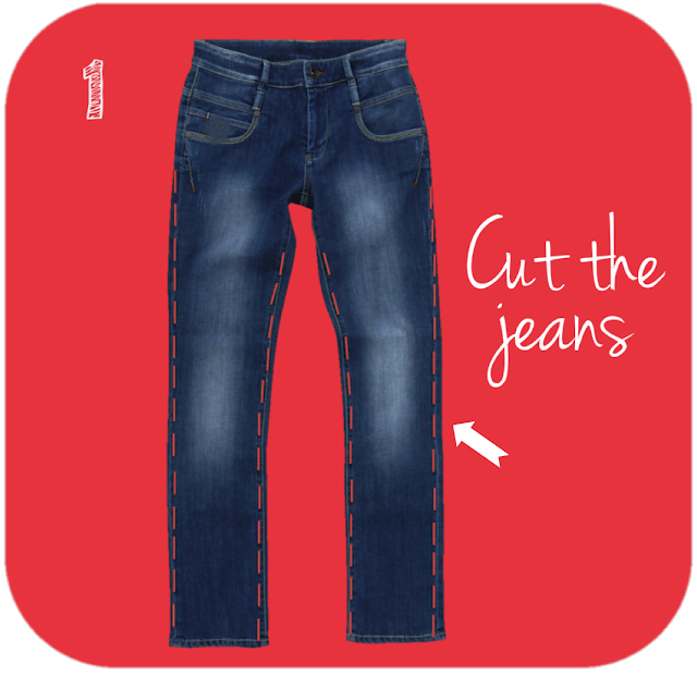 cut the jeans