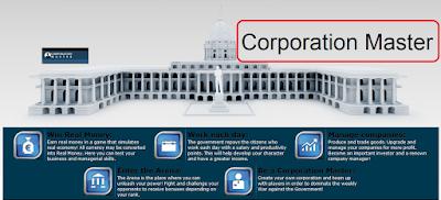شرح لعبة رجل الشركات الربحية CorporationMaster