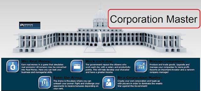 شرح لعبة رجل الشركات الربحية Corporation Master Game
