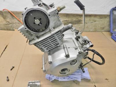 Yamaha YBR 125 Top End