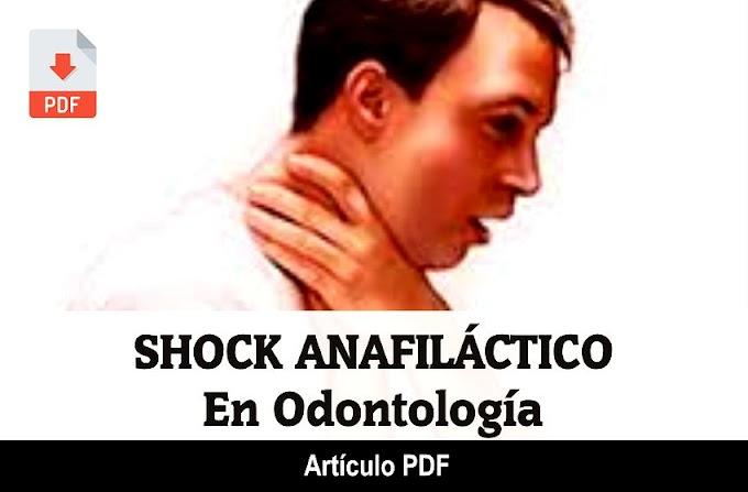 PDF: Shock Anafiláctico en Odontología - Caso Clínico