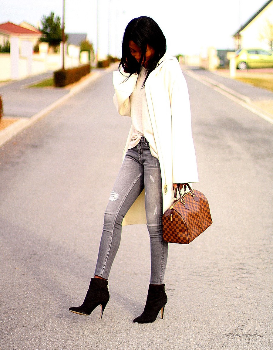 outfit-inspiration-casual-chic-blogueuse-ootd-speedy-vuitton-zara-coat-bell-sleeves