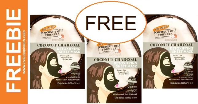 FREE Palmer's Sheet Mask CVS Deal