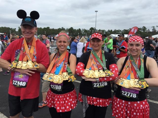 Dopey Challenge Mickey Marathon 2016 Dopey Finishers