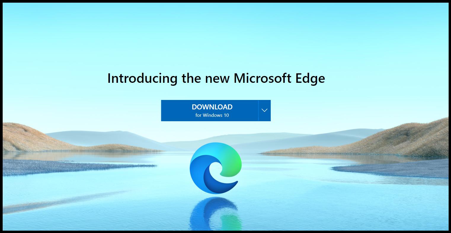 New Microsoft Edge, CHROMIUM