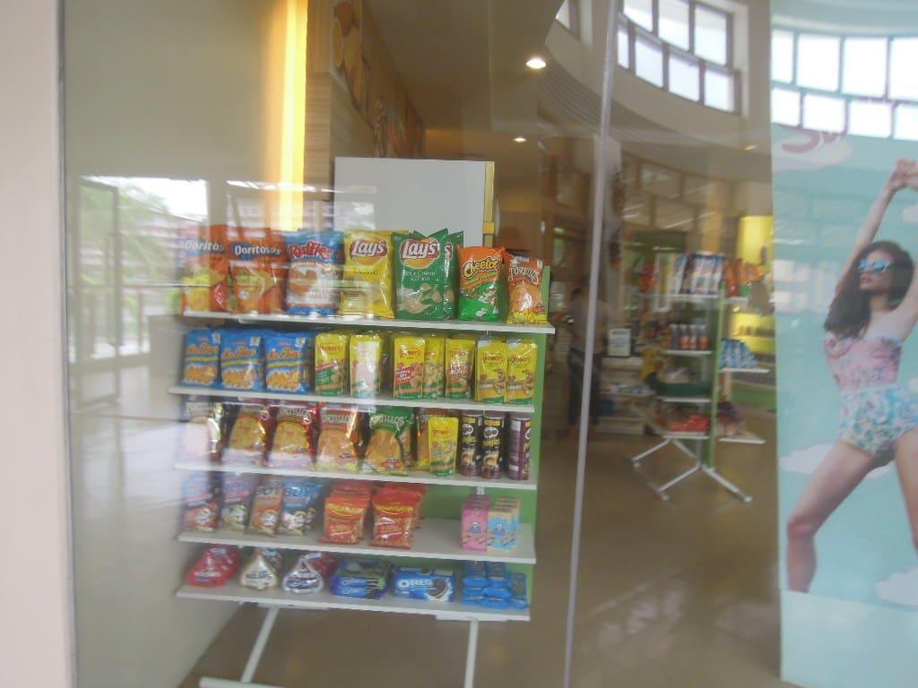 Merchandise inside Grab n Go at Pico de Loro Beach & Country Club