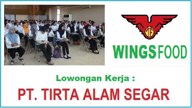 Lowongan Kerja PT Tirta Alam Segar (TAS) Lulusan SMA, SMK Dengan Posisi Teknisi Mesin Thermoforming, ETC Bulan Oktober 2019