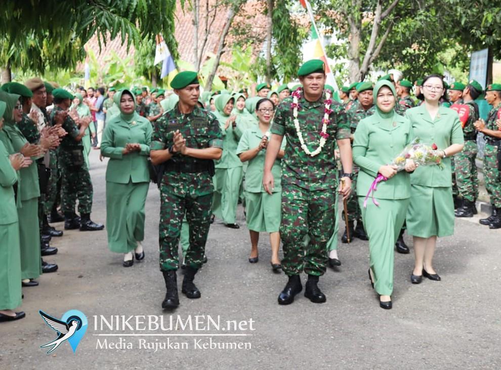 Gantikan Zamril Philiang, MS Prawira Negara Jabat Dandim Kebumen