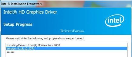 Intel Graphic Driver for Windows 7 64 Bit