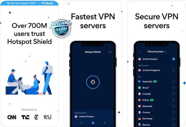 اسرع تطبيق VPN للايفون