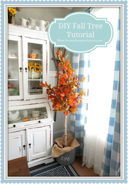 DIY Fall Tree Tutorial-FromMy Front Porch To Yours