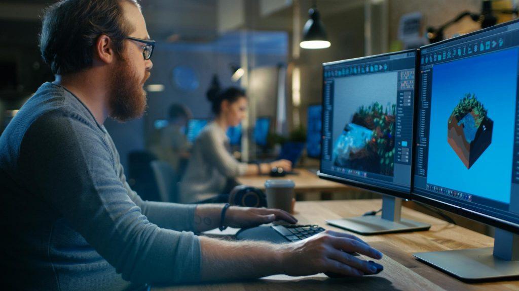 Sonha em criar games? O curso de Criação de Jogos com Blender é o lugar pra começar