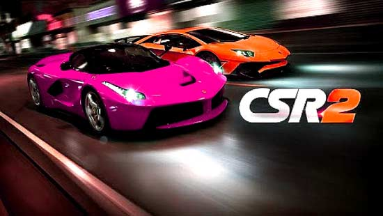 CSR Racing 2 Mod Apk For Android